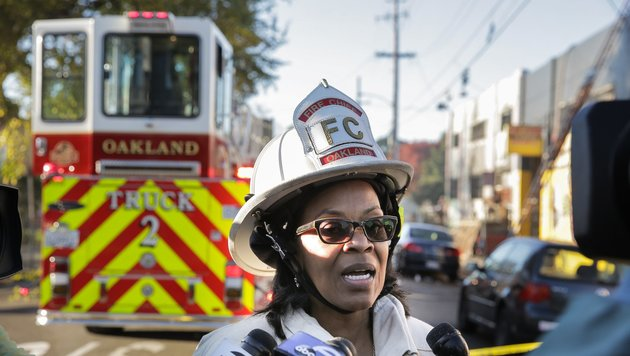 USA: Brand auf illegaler Rave-Party - neun Tote (Bild: AFP)