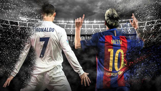 Barcelona gegen Real Madrid: Das Milliarden-Duell (Bild: GEPA pictures/ Martin Priebernig)