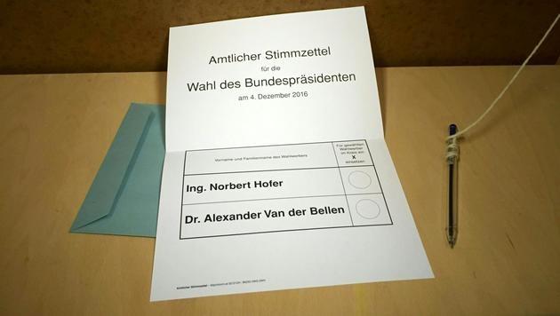 Klarer VdB-Sieg: Österreich geht auf Nummer sicher (Bild: APA/PRIVAT)