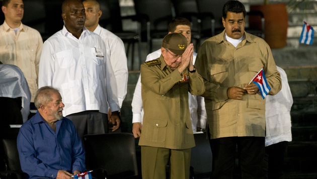 Fidel Castros Urne in Santiago de Cuba beigesetzt (Bild: AP)