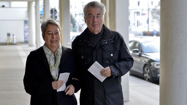 Margit und Heinz Fischer (Bild: APA/HERBERT NEUBAUER)