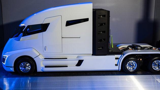 Der elektrische Super-Lkw wird endlich Realität (Bild: Nikola Motor Company)