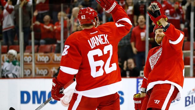 NHL: Vanek verliert mit Detroit trotz 3:1-Führung (Bild: APA/AFP/GETTY IMAGES/Gregory Shamus)