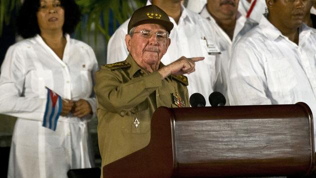 Raul Castro (Bild: AP)