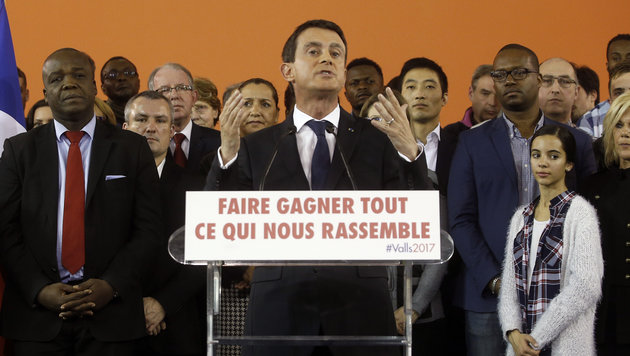 Premier Valls tritt ab, um Präsident zu werden (Bild: AP)