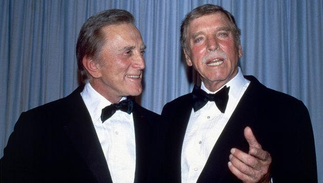 Kirk Douglas und Burt Lancaster (Bild: Viennareport)