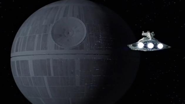 Todesstern kostet 7,4 Quadrilliarden Euro am Tag (Bild: Lucasfilm)