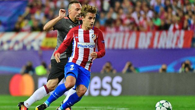 Bayern hofft auf Mega-Serie und Rache an Griezmann (Bild: APA/AFP/PIERRE-PHILIPPE MARCOU)