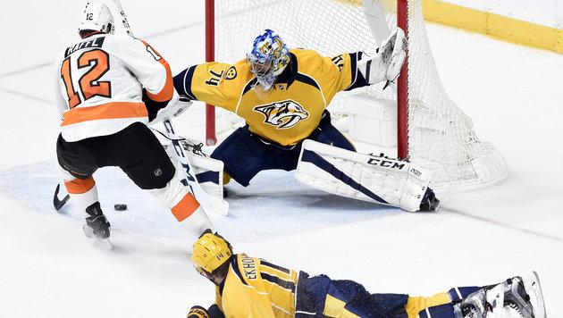 NHL: Raffl erzielt 5. Saisontor bei Flyers-Sieg (Bild: AP)
