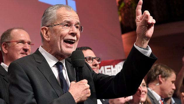 Van der Bellen jetzt fix nächster Bundespräsident (Bild: APA/ROLAND SCHLAGER)
