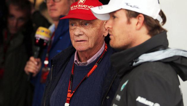 Lauda legt nach: Rosberg kein richtig guter Fahrer (Bild: GEPA)