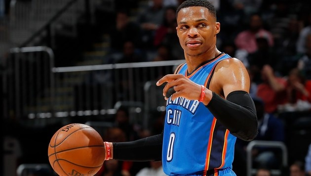 Russell Westbrook (Bild: APA/AFP/GETTY IMAGES/Kevin C. Cox)