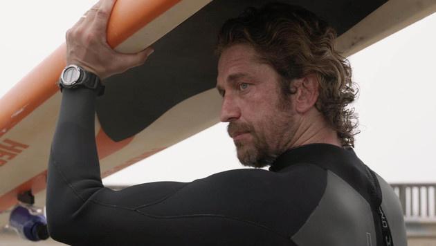 "Gerard Butler im Film ""Mavericks"" (Bild: Viennareport)"