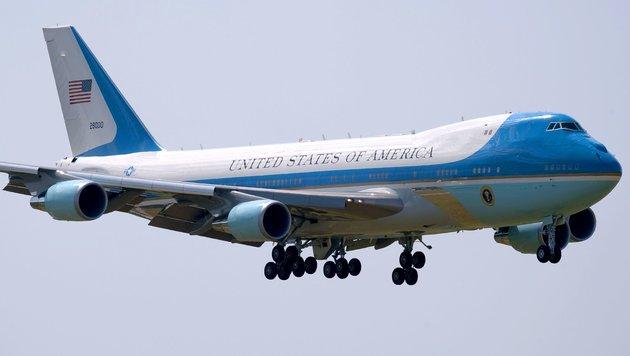 """Kauf neuer """"Air Force One"""" vor Stornierung (Bild: APA/AFP/Nicolas Asfouri)"""