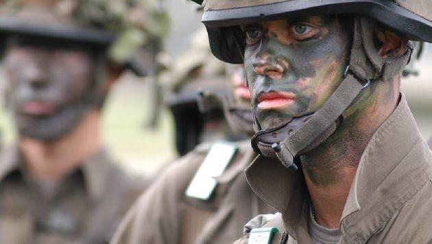 """Russische Tarnfarbe macht Soldaten """"unsichtbar"""" (Bild: Österreichisches Bundesheer)"""