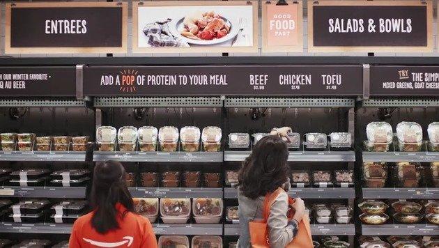 Amazon eröffnet Supermarkt ohne Kassen (Bild: Amazon)