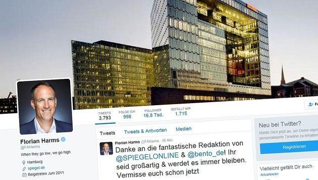 """Führungswechsel bei """"Spiegel Online"""" (Bild: Twitter)"""