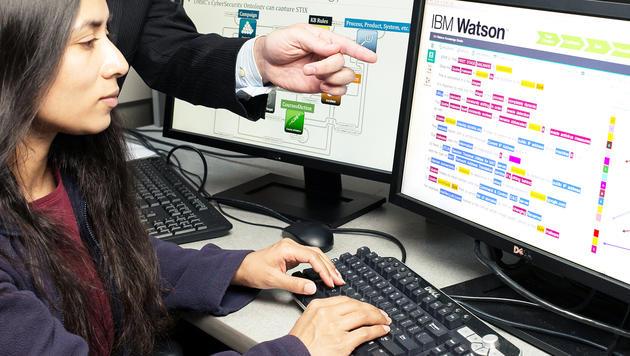 KI soll Spielwende bei Cyber-Angriffen einläuten (Bild: IBM)