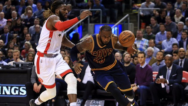 "Kein ""siebenter Streich"" von Toronto in NBA (Bild: APA/AFP/GETTY IMAGES/VAUGHN RIDLEY)"