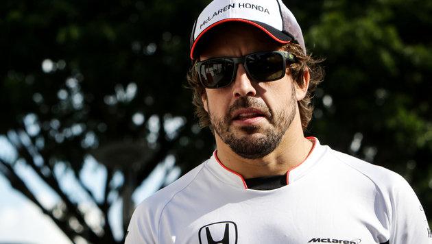 McLaren lässt Fernando Alonso nicht ziehen (Bild: GEPA)