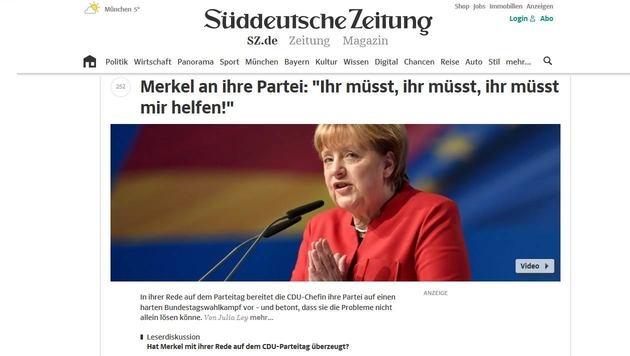 Sueddeutsche.de bekommt eine Doppelspitze (Bild: sueddeutsche.de)