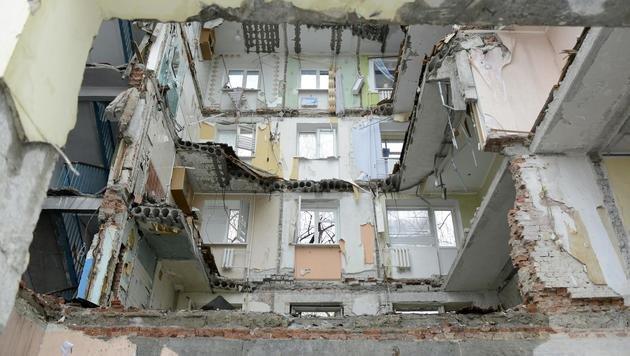 Ukraine: Fernsehen im Donbass wieder in Betrieb (Bild: APA/ANGELIKA KREINER)
