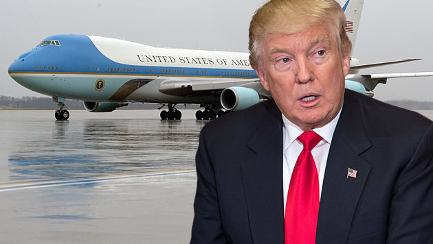 "Kauf neuer ""Air Force One"" vor Stornierung (Bild: Associated Press, AFP/Nicholas Kamm)"