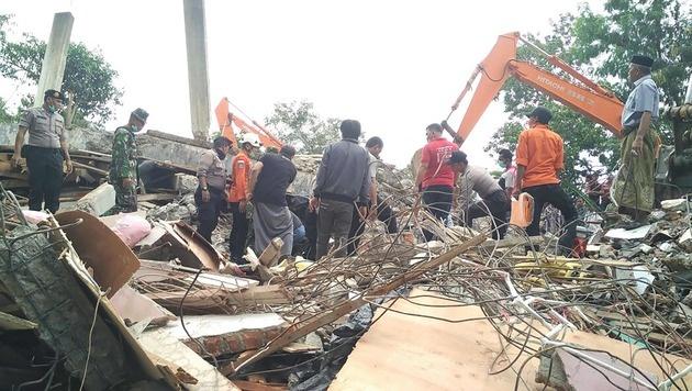 Dutzende Tote bei Erdbeben in Indonesien (Bild: AFP or licensors)