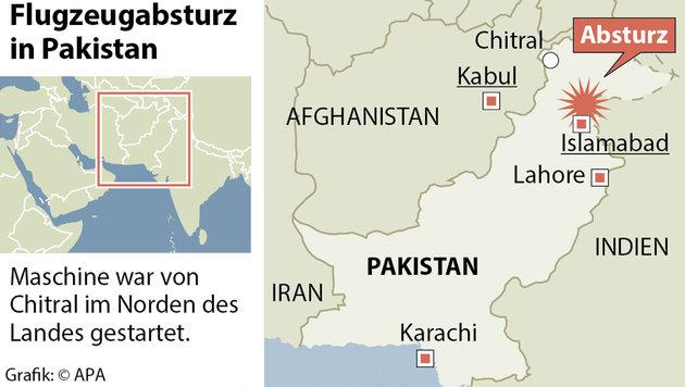 Zwei Österreicher bei Flugzeugabsturz getötet (Bild: APA)