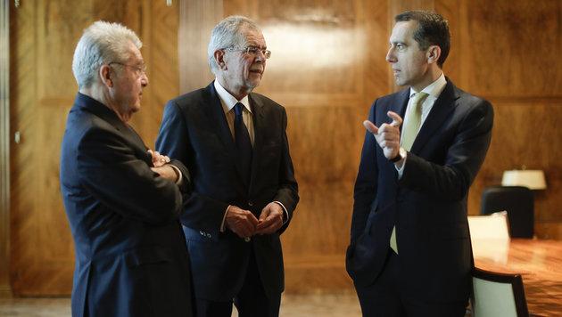 Van der Bellen traf UNO-Chef Ban Ki Moon in Wien (Bild: APA/BKA/ANDY WENZEL)