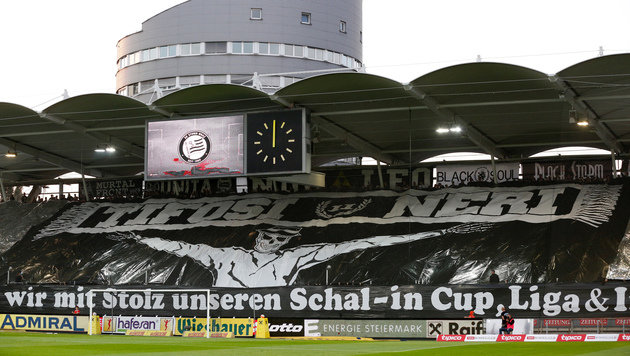 Fans von Sturm Graz (Bild: GEPA)