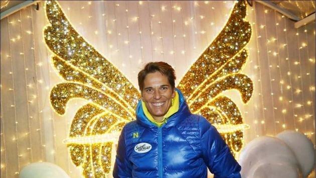 Auch Michaela Dorfmeister hat Berger einst Flügel verliehen. (Bild: Peter Tomschi)