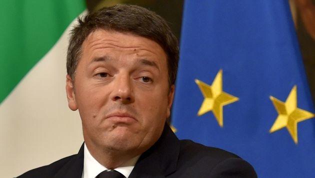 Matteo Renzi (Bild: APA/AFP/Andreas Solaro)