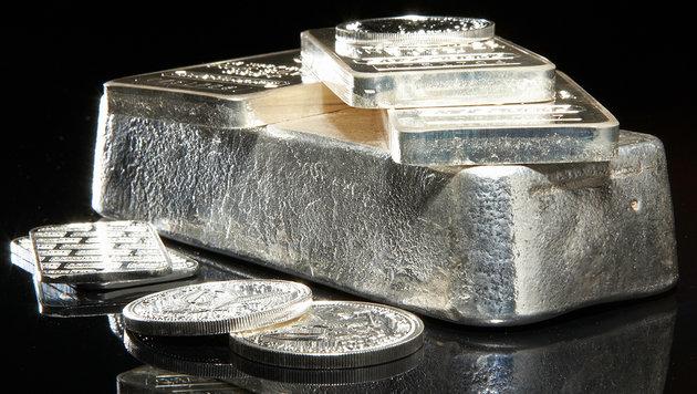 Silber - das neue Gold? (Bild: thinkstockphotos.de)