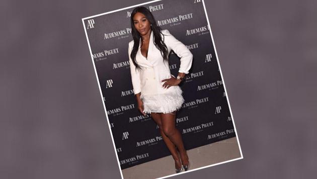 Steht ihr gut, wie wir finden: Tennis-Superstar Serena Williams im ganz eleganten Outfit. (Bild: Instagram)