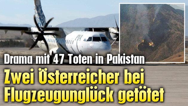 Zwei Österreicher bei Flugzeugabsturz getötet (Bild: EPA)