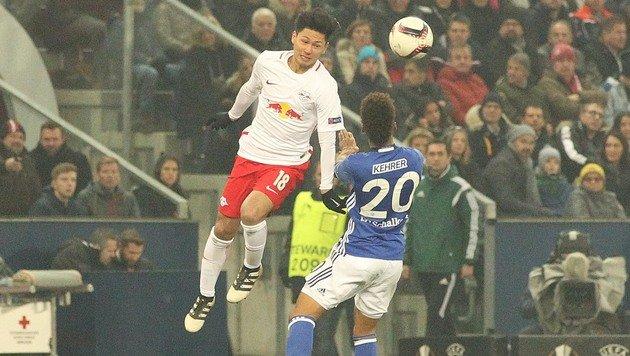 Salzburger Heimsieg über Schalke bei EL-Abschied (Bild: APA/KRUGFOTO)