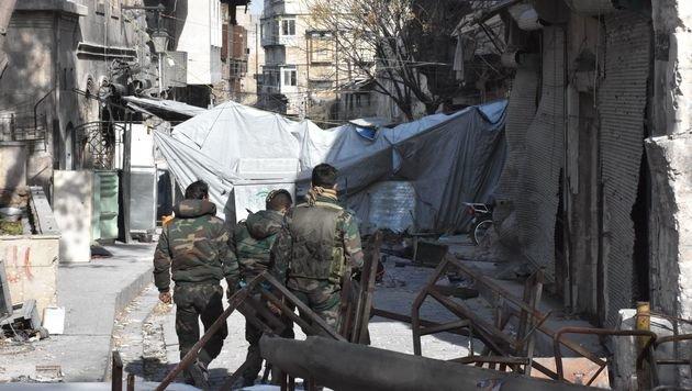 Mehr als 85 Prozent von Ostaleppo wurde von den bewaffneten Rebellen zurückerobert. (Bild: AFP)