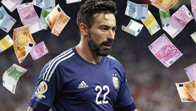Er ist der bestbezahlte Fußballer der Welt (Bild: APA/AFP/GETTY IMAGES/SCOTT HALLERAN, thinkstockphotos.de)