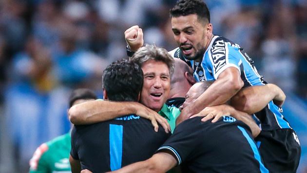 Gremio gewinnt emotionales Cup-Finale in Brasilien (Bild: AFP)