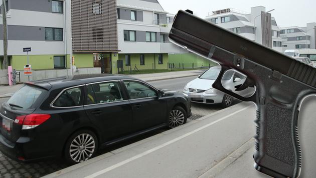 Vor diesem Haus in Wien-Donaustadt kam es zum Parkplatz-Streit. (Bild: Peter Tomschi, Thinkstockphotos.de)