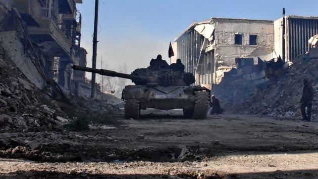 Schlacht um Aleppo: 800 Tote binnen 26 Tagen (Bild: AFP)