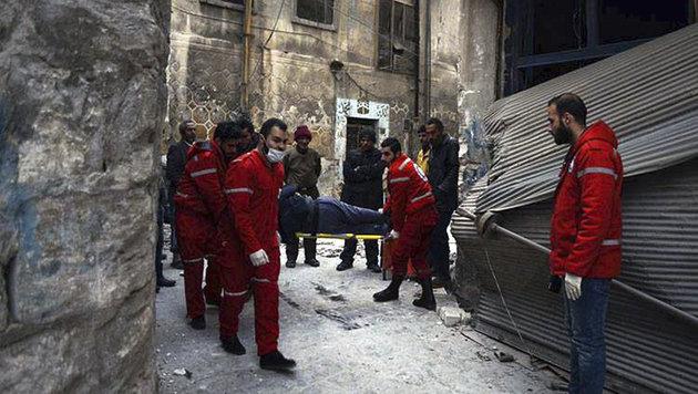 """Assad verkündet """"Befreiung"""" von Aleppo (Bild: AFP)"""