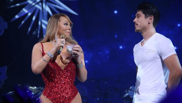 Mariah Carey und Bryan Tanaka (Bild: Viennareport)