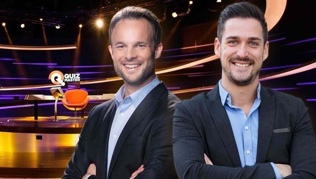 """Quizmaster"" neu: am Montag übernimmt Florian Rudig, ab März  folgt Andi Moravec. (Bild: ServusTV)"