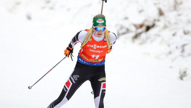 Hauser im Pokljuka-Sprint 12., Sieg an Dahlmeier (Bild: GEPA)