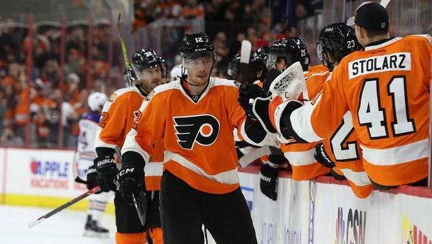 Raffl trifft bei Sieg seiner Philadelphia Flyers (Bild: Getty Images)