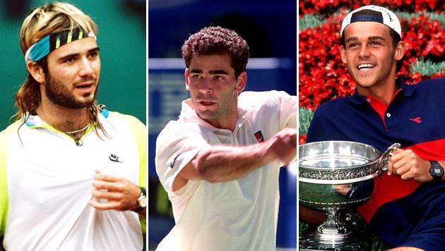 Wie gut kennen Sie die Tennis-Stars der 90er? (Bild: GEPA)