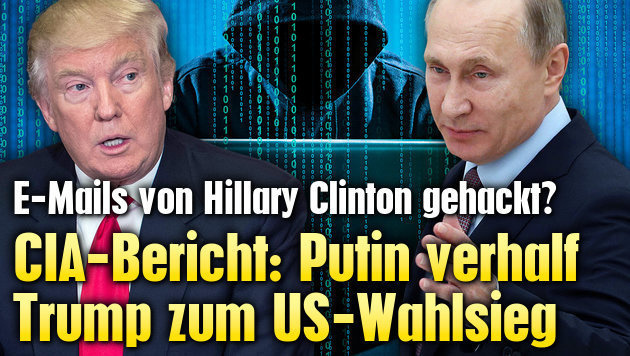CIA-Bericht: Putin verhalf Trump zum US-Wahlsieg
