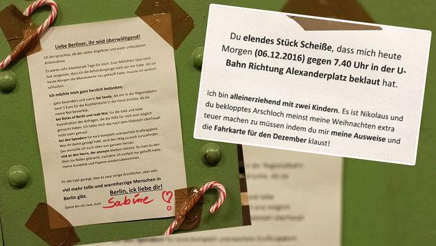 Happy End für bestohlene schimpfende Berlinerin (Bild: notesofberlin.com)